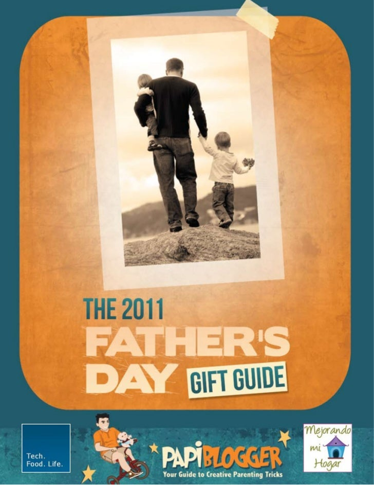 2011 Papiblogger Fathers Day Gift Guide