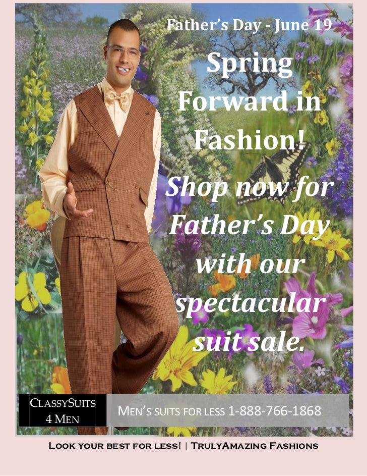 2011 Fathers Day Suit Specials