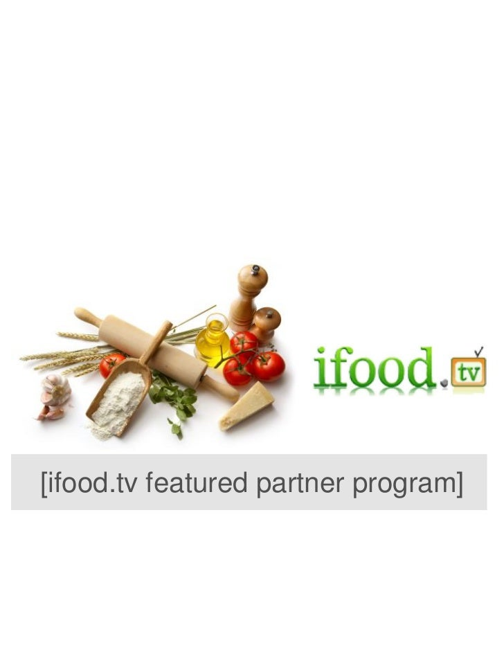 [ifood.tv featured partner program]