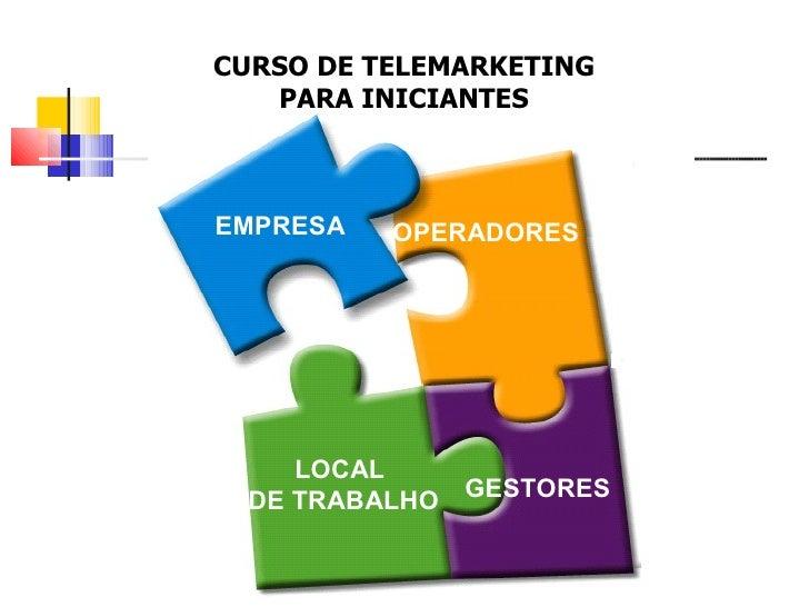 CURSO DE TELEMARKETING PARA INICIANTES