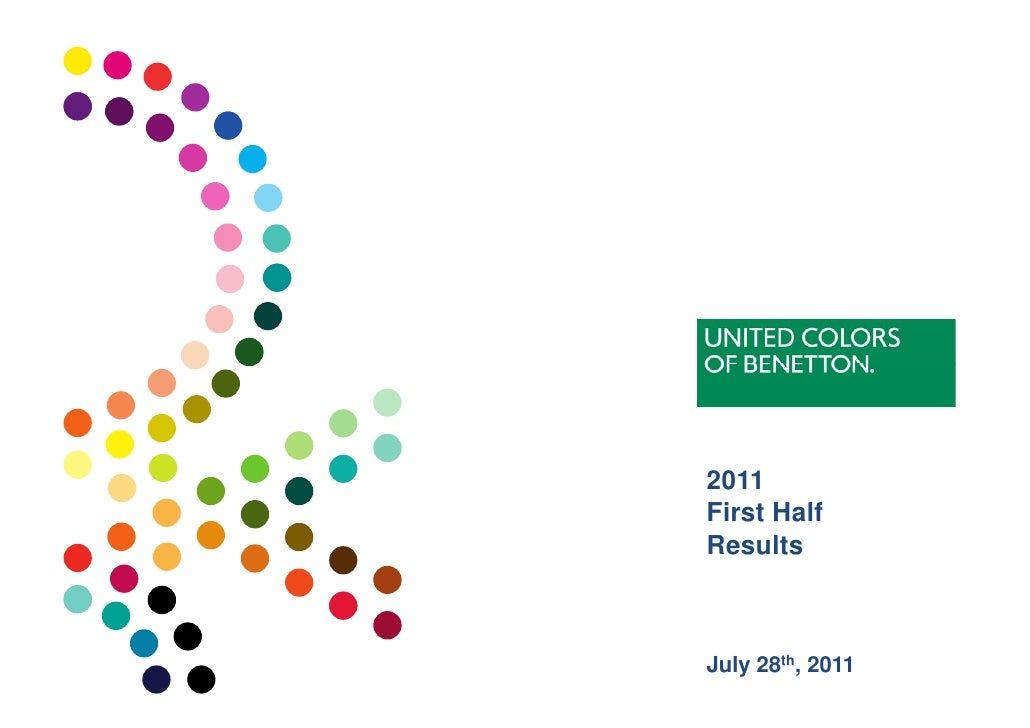 Benetton Group - 2011 First Half Results