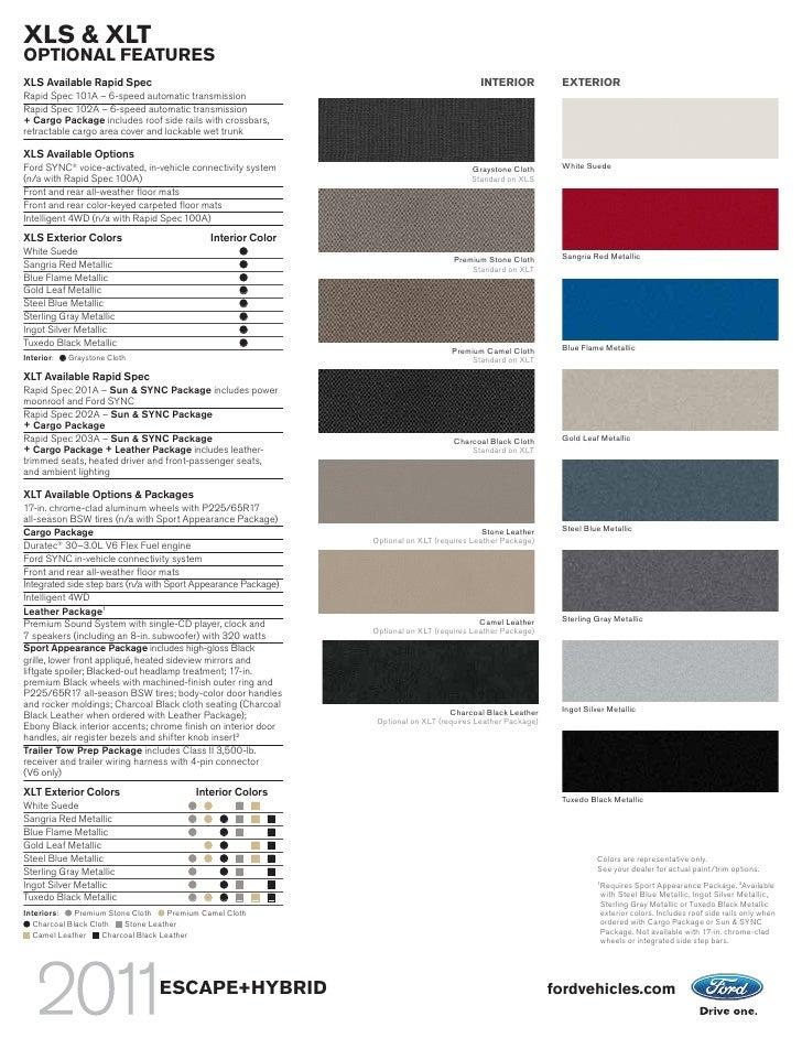 2013 Escape Colors >> 2011 Don Chalmers Ford Escape Albuquerque NM