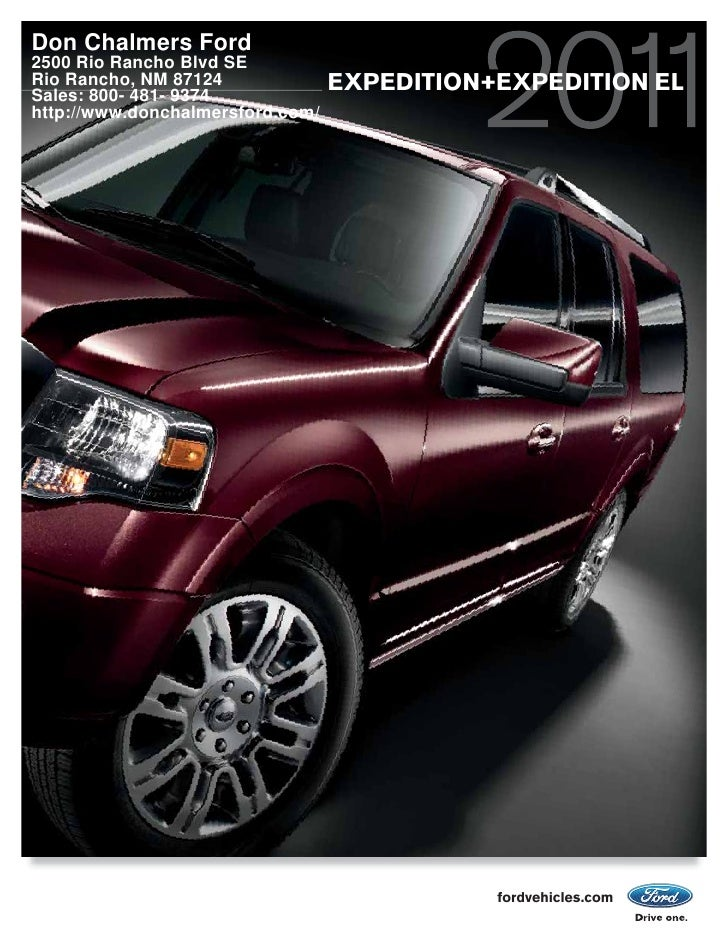 2011 Don Chalmers Ford Expedition Albuquerque NM