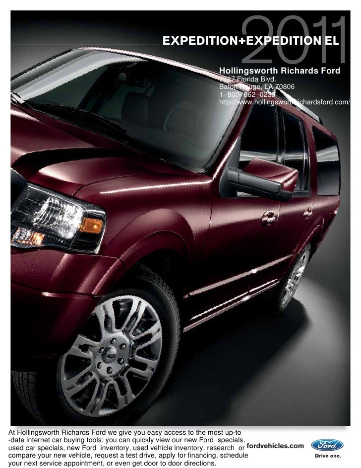EXPEDITION+EXPEDITION EL                                                                  Hollingsworth Richards Ford     ...