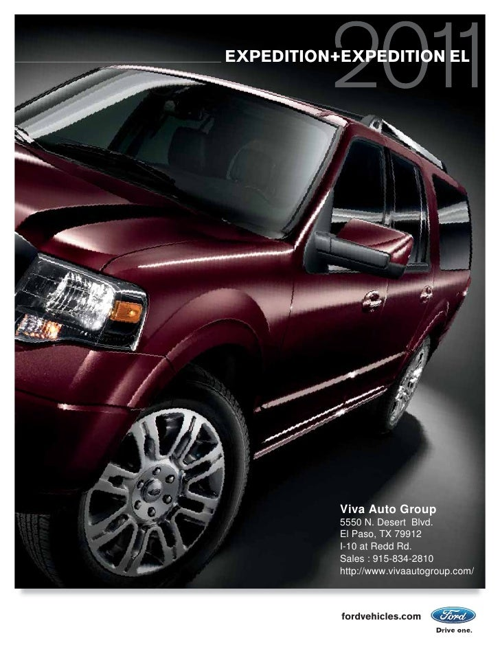 2011  Ford Expedition Ford of Viva Auto Group El Paso TX