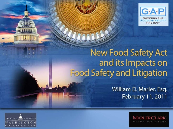 The Impact of the Food Safety Modernization Act with Bill Marler