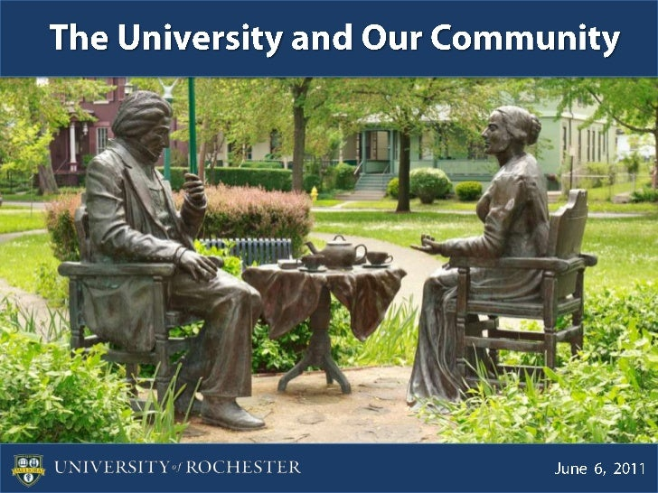The University and Our Community<br />June  6,  2011<br />