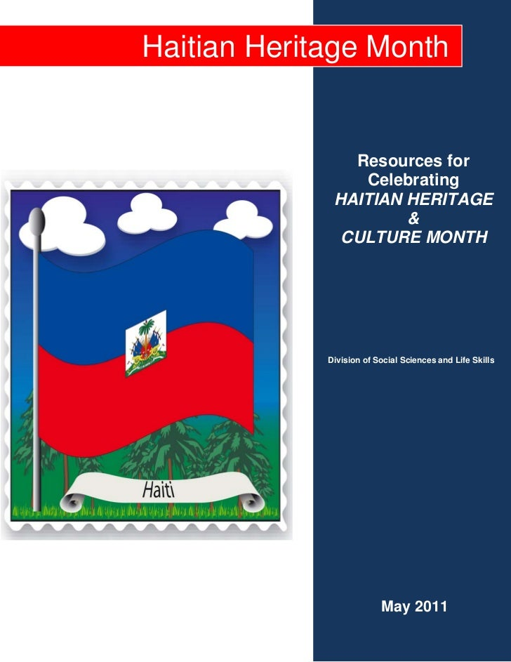 2011 haitian heritage month instructional resource packet