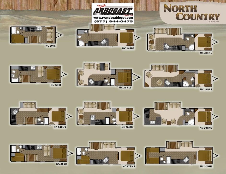 2011 Heartland North Country Brochure Ohio