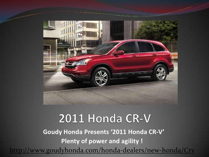 Honda CR-V Los Angeles - Compact SUV from Goudy Honda Your most preferred Alhambra area Honda dealer