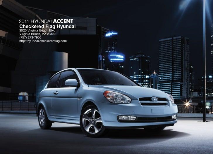 2011 Hyundai Accent For Sale In Virginia Beach VA | Checkered Flag Hyundai