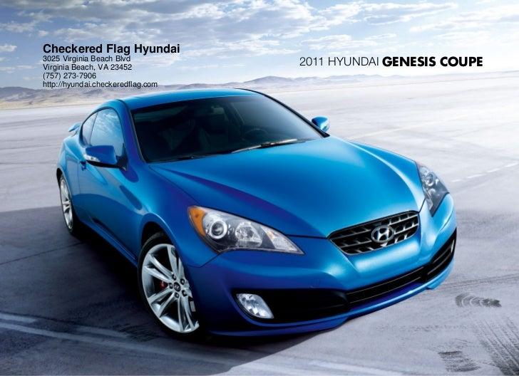2011 Hyundai Genesis Coupe For Sale In Virginia Beach VA   Checkered Flag Hyundai