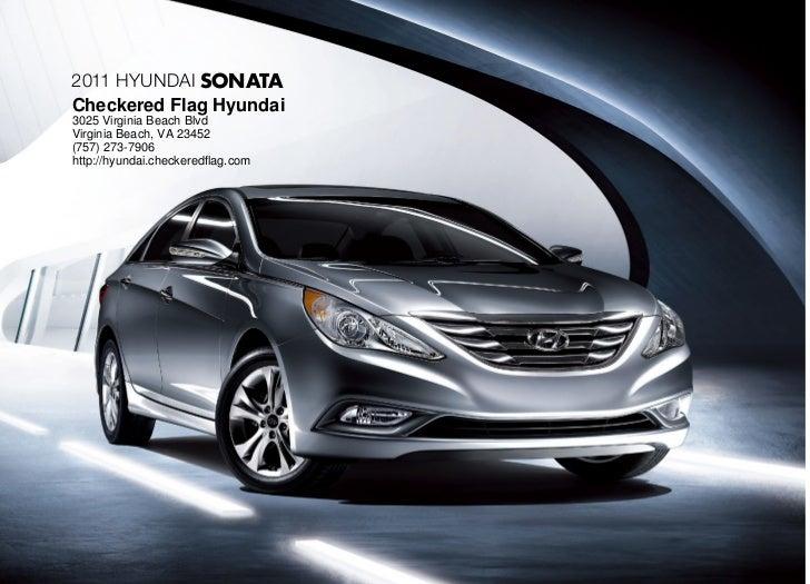 2011 Hyundai Sonata For Sale In Virginia Beach VA   Checkered Flag Hyundai