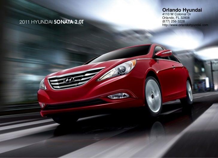 2011 Hyundai Sonata 2.0T For Sale In Orlando FL| Orlando Hyundai