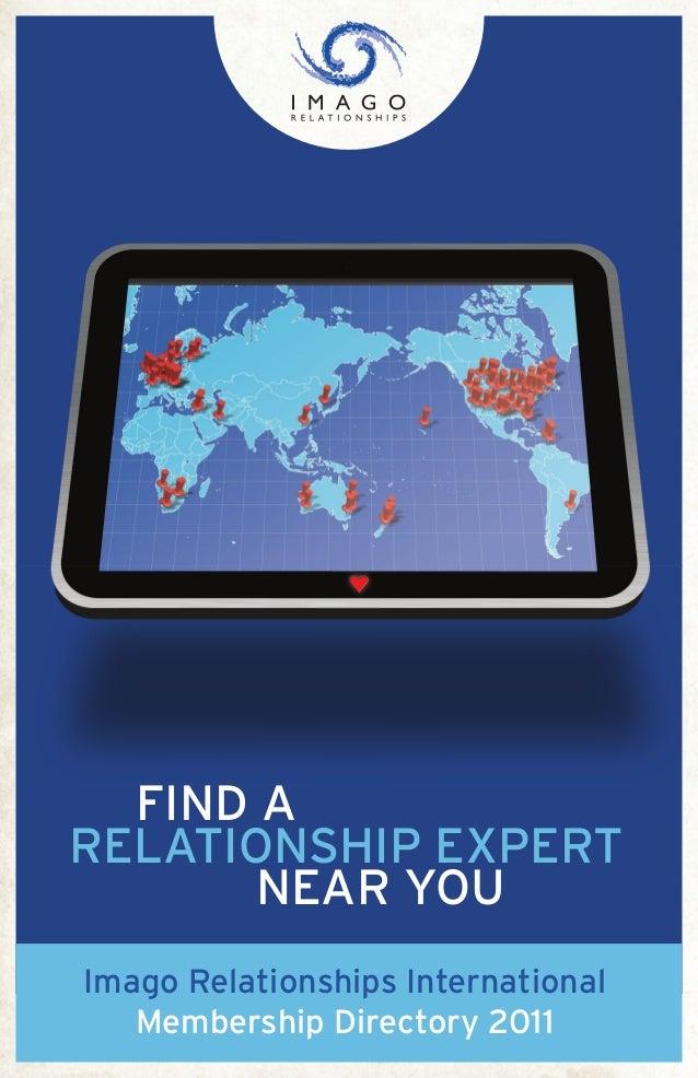 Imago Relationships InternationalMembership Directory 2011FIND ARELATIONSHIP EXPERTNEAR YOU