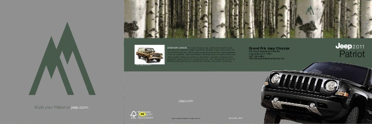 LEGENDARY LINEAGE. For nearly 70 years, Jeep vehicles have ruled the rocks,                                               ...