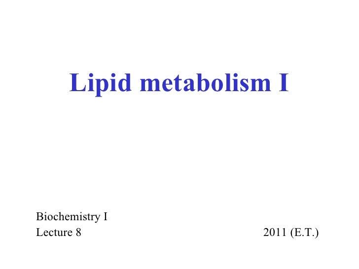 2011 lipids i (1)