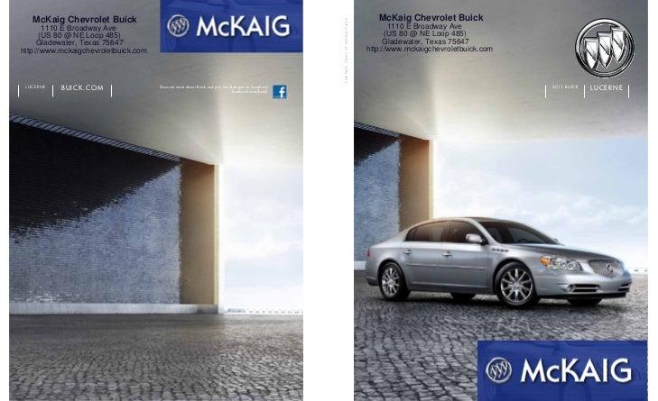 2011 Buick Lucerne for Sale Longview Texas - McKaig Buick