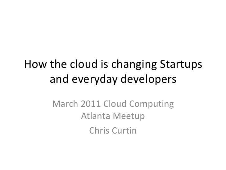 2011 march cloud computing atlanta