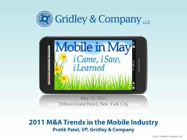 2011 M&A Trends in the Mobile Industry