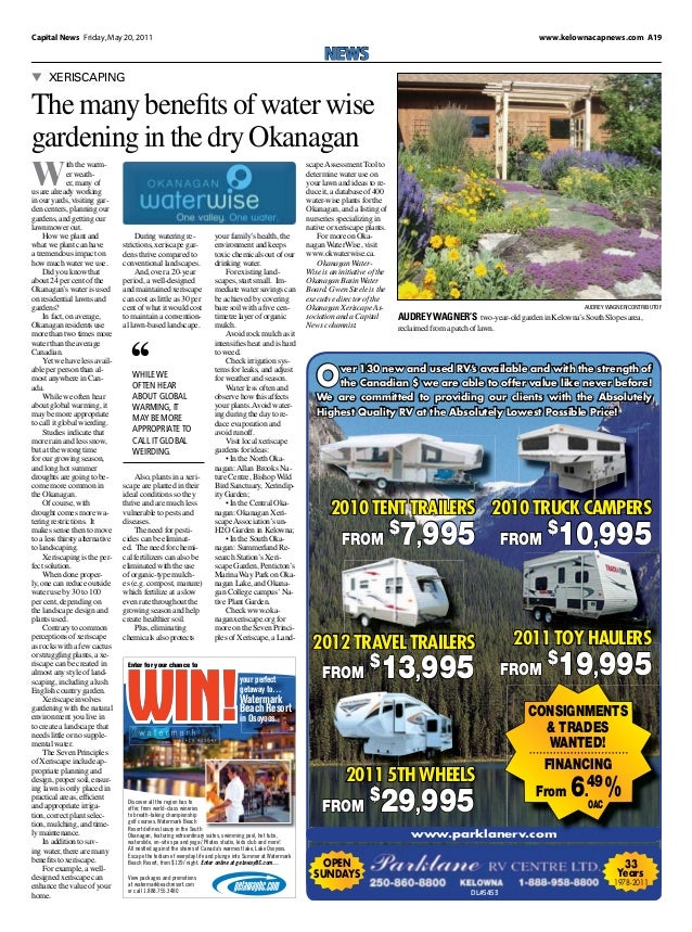 The Many Benefits of Water Wise Gardening in the Dry Okanagan, Canada