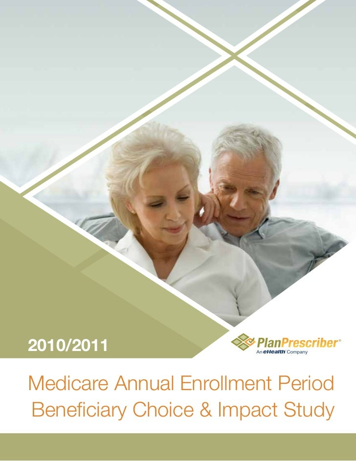 2010/2011Medicare Annual Enrollment PeriodBeneficiary Choice & Impact Study