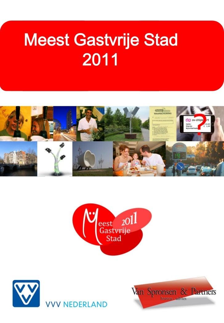 Meest Gastvrije Stad       2011