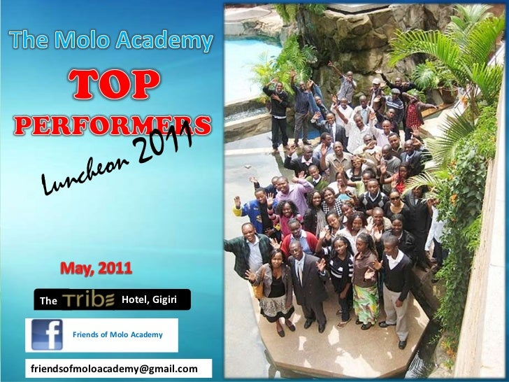 2011 Molo Academy Top Performers Luncheon