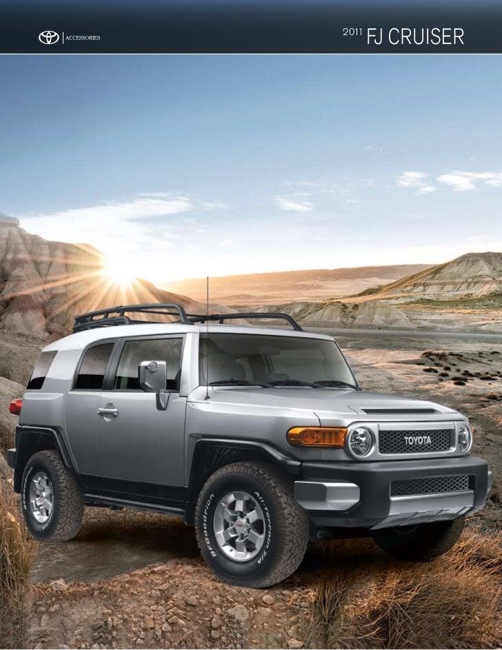 2011 Toyota FJ Cruiser Accessories Dallas