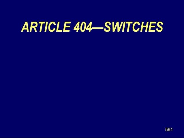 nec article 400.4