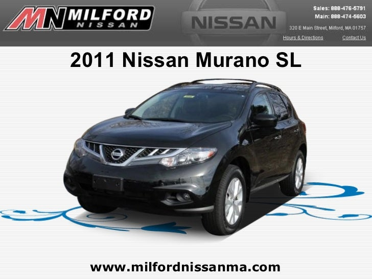 Used 2011 Nissan Murano SL - Milford Nissan Worcester, MA
