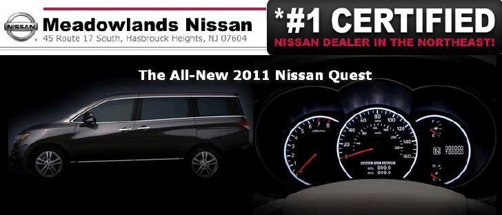 2011 Nissan Quest Special – Meadowlands Nissan Hasbrouck Heights NJ