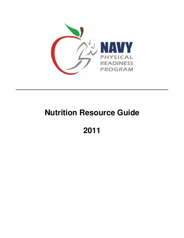 Nutrition Resource Guide         2011