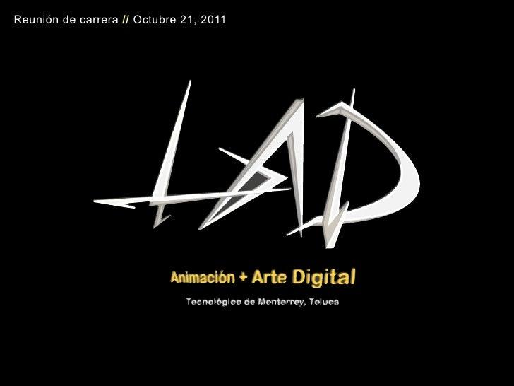 Reunión LAD • octubre 21, 2011