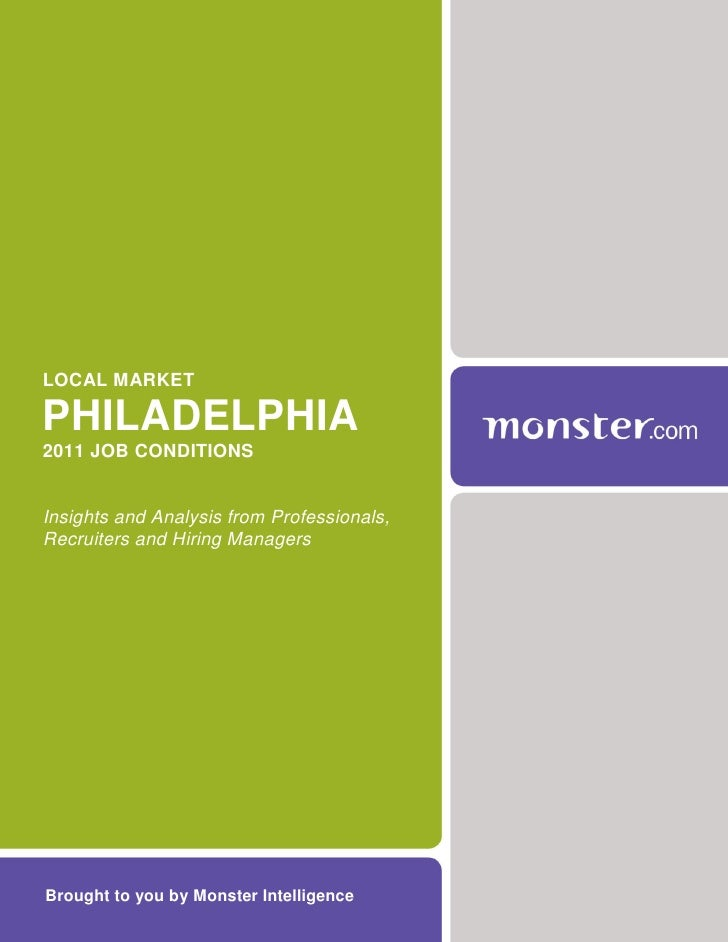2011 Philadelphia Job Market Report