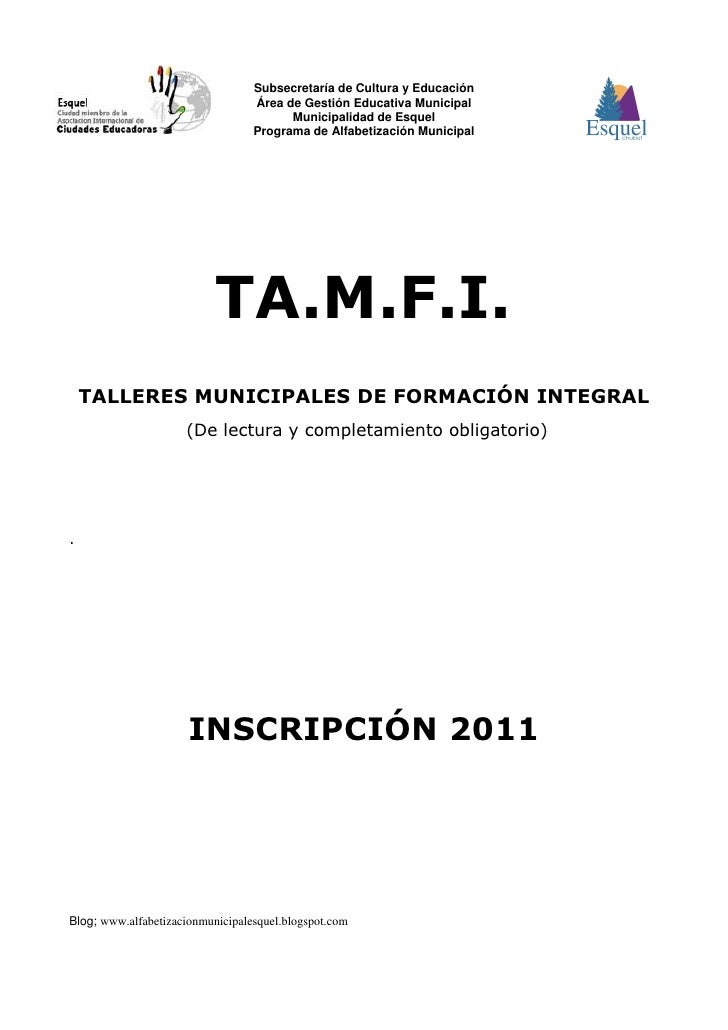 2011 planillas inscripción educadores