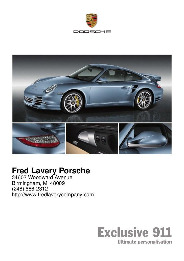 2011 Porsche 911 For Sale MI   Porsche Dealer Near Detroit