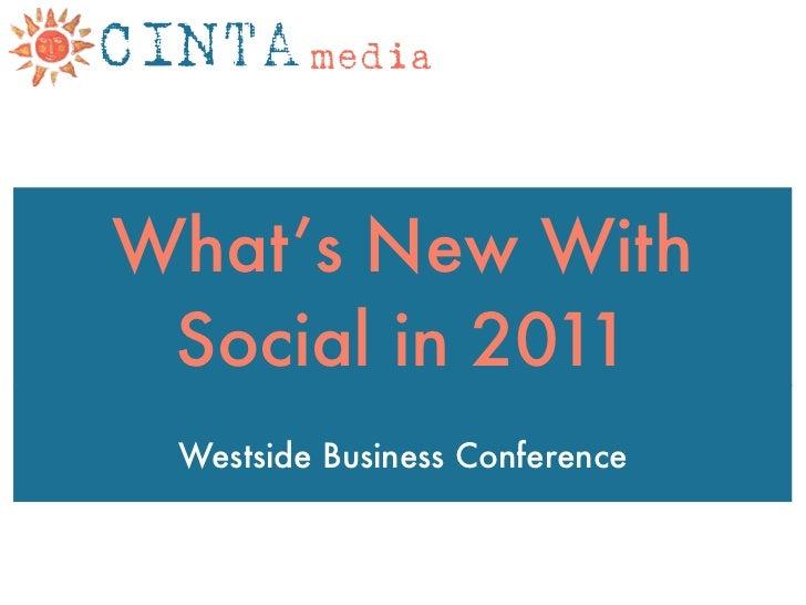 2011 Social Media predictions