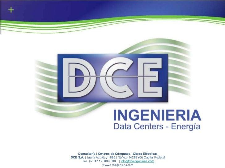 Presentación Institucional DCE S.A.