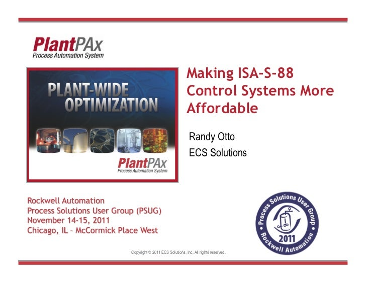 Making ISA-S-88                                              Control Systems More                                         ...