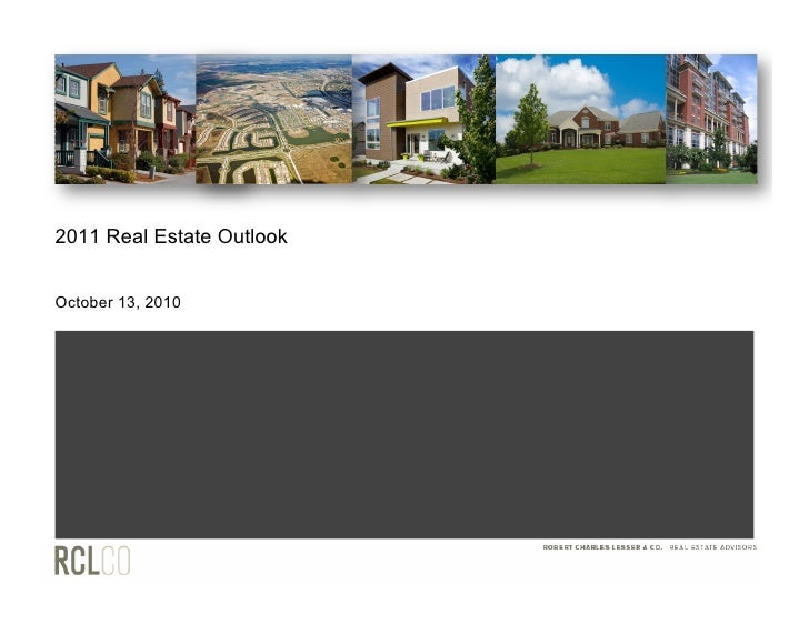 2011 Real Estate Outlook