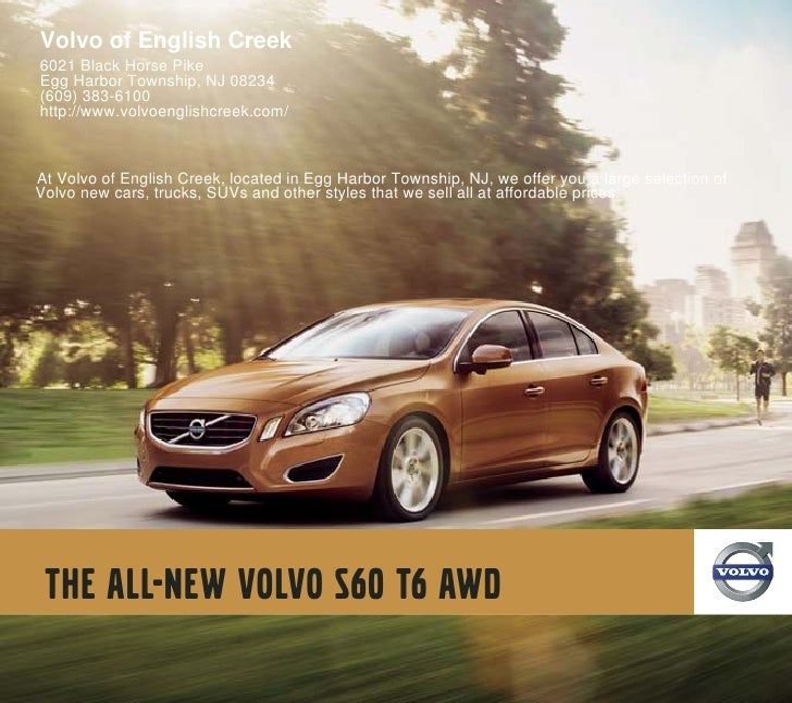 2011 Volvo of English Creek S60 Egg Harbor Township NJ