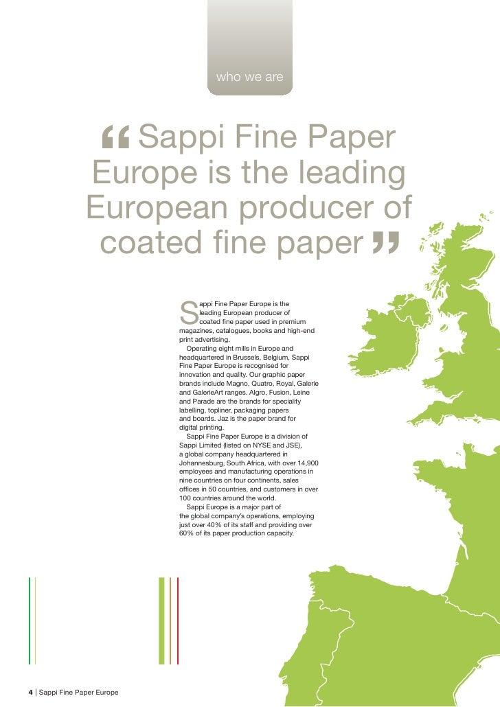 Sappi Fine Paper North America