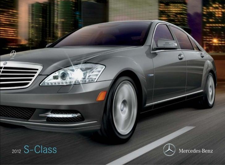 2012   S-Class