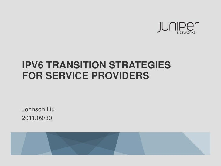ipv6 transition Nokia helps navigate ipv6 transition to ensure business continuity and sustain growth of internet applications, devices and subscribers.