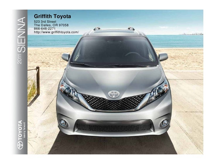 2011 Toyota Sienna Griffith Toyota OR
