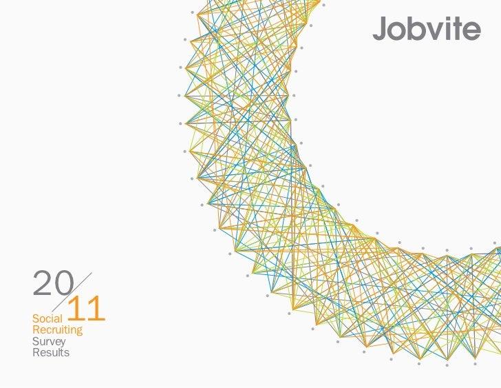 2011 Social Recruiting Survey From Jobvite