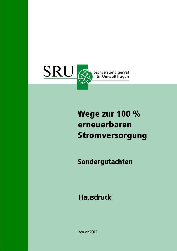 2011 sondergutachten 100_prozent_erneuerbare