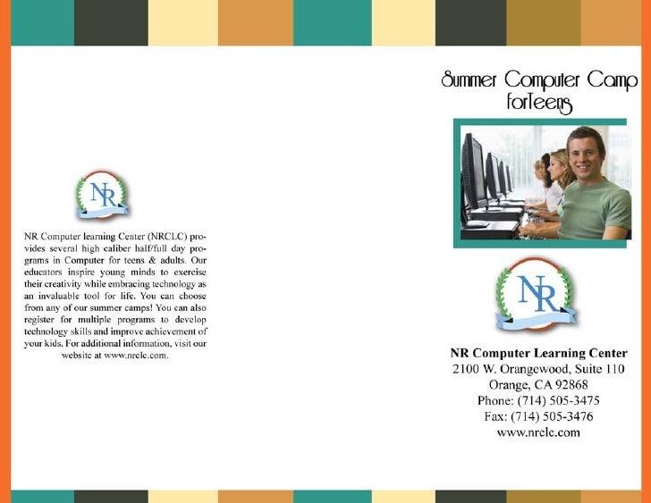 2011 summer program teens brochure