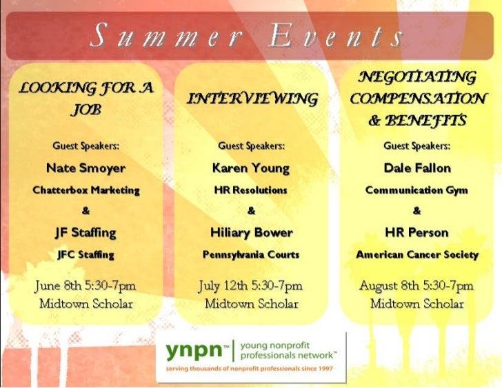 2011 YNPN Summer Event